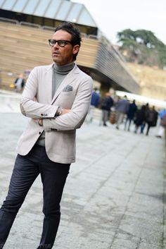 Tones, Pitti Uomo, Men's street style