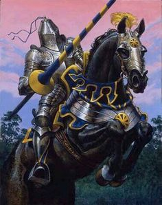 """Paladin class abilities include the ability to detect evil at will, immunity to fear and disease, the ability to cure disease, the opportunity to use """"holy avenger"""" swords with imbued divine spells or extra damage to evil creatures, and to summon a """"special mount"""" - usually a heavy warhorse of unusual strength and intelligence."""