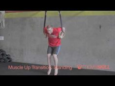Demo: Muscle Up Transition Muscle Up, Strength Training, Youtube, Muscle Building, Youtubers, Weight Training, Build Muscle