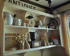 My friend Wanda's darling pantry closet