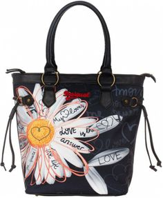 Shop Desigual Spring-Summer 2018 women's clothing. Trendy Handbags, Best Handbags, Desigual Jeans, Old And Teen, Boho Bags, Online Fashion Stores, Mellow Yellow, American, Purses And Bags