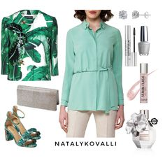 green elegance - Fashion look - URSTYLE