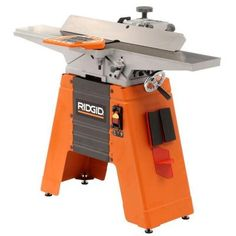 RIDGID 6-Amp 6-1/8 in. Corded Jointer/Planer-JP0610 - The Home Depot