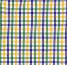 Fabric Finders, Inc. #T62 Purple, Gold, Green Plaid