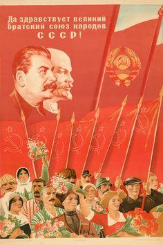 ☭⚑✭The Soviet Broadcast✭⚑☭ Communist Propaganda, Propaganda Art, Soviet Art, Soviet Union, Vintage Posters, Vintage Art, Socialist Realism, Evil People, Poster Ads