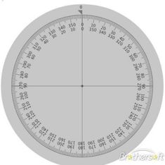 Circular protractor 360 degree measurements recommended download free protractor protractor pronofoot35fo Gallery
