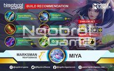 Build Miya Tersakit 2021, Build Miya Top Global Mobile Legends Global Mobile, Mobile Legends, Games, Building, Top, Horsehair, Buildings, Gaming, Plays