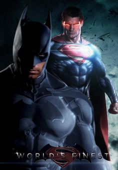 I hope Zack Snyder approaches Man of Steel 2 from the World's Finest perspective and not the Frank Miller Superman vs. Batman perspective - Batman / Superman Fanmade Poster << this is actually kinda cool ? Batman Vs Superman, Superman Man Of Steel, Batman Art, Spiderman, Funny Batman, Marvel Wolverine, Batman Logo, Comic Book Characters, Comic Book Heroes