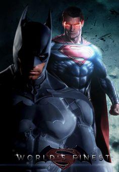 World's Finest - Batman / Superman Fanmade Poster