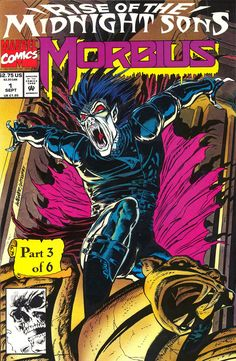 Morbius: The Living Vampire vol 1 #1 | Cover art by Ron Wagner & Mike Witherby
