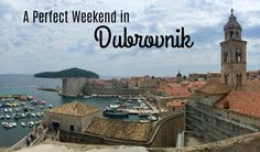 What to see and eat in Dubrovnik, Croatia