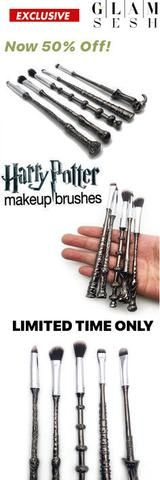 MUST-BUY - These will not last. Are You a Harry Potter Fan? Do you know one? Perfect Gift Idea for you Fabulous Witches! Harry Potter Make Up Brush Set - 50% OFF now only $35.