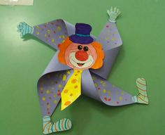 Carnival Activities, Carnival Crafts, Carnival Themed Party, Circus Theme, Preschool Activities, Clown Crafts, Halloween Crafts, Diy And Crafts, Crafts For Kids