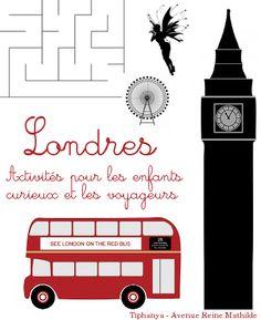 Livre d'activités sur Londres pour les 5-10 ans.  #homeschool #IEF #primaire Theme Anglais, Primary Education, Diy For Kids, Activities For Kids, Kindergarten, Worksheets, London, Learning, School