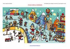 Actividades para trabajar la atención y la percepción visual el invierno-Andujar