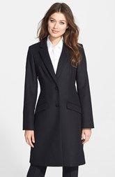 BOSS 'Cavira' Wool Blend Menswear Coat