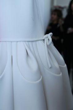 Pinched and folded details: Josep Font for Delpozo SS 2013