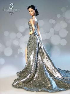3 Diamonds Refugio Rosa Barbie Doll 2014
