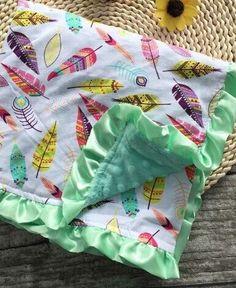 Super Soft Minky Baby Blanket-Mermaid, Pineapple, Dream Catcher