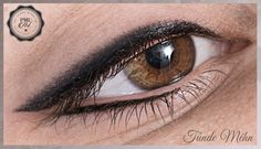 Shaded upper eyeliner and classic below ;) This kind of combination is very gorgeous as well :D