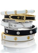 Bracelets perfect for #stacking.