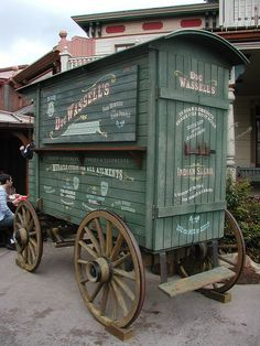 medicine wagon, disneyland paris by j_pidgeon, via Flickr