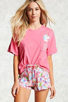 Sleep tight in loungewear, PJs, intimates, & lingerie sets from Forever Shop online today for your next favorite pajama set this season. Pyjamas, Cozy Pajamas, Pajamas For Teens, Pajamas Women, Satin Pyjama Set, Pajama Set, Womens Fashion Online, Latest Fashion For Women, Unicorn Outfit