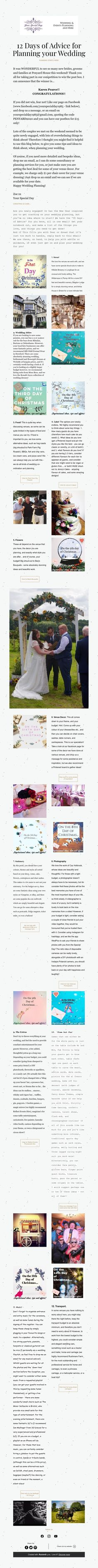 12 Days of Advice for Planning your Wedding    PLANNING STARTS HERE! Plan Your Wedding, Wedding Planning, 12 Days, Special Day, Wedding Ceremony, Things To Think About, Advice, Messages, How To Plan