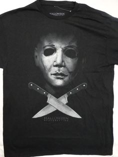 9df9bffe6 Details about Michael Myers Halloween Horror Movie Boogeyman Licensed T- Shirt