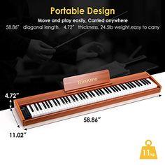 Rinkmo E-115 Digital Piano review | How does this brand size up? – Allegro Keys Digital Piano, Keys, Key