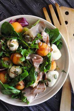 Prosciutto Cantaloupe Salad
