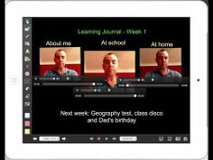 Using Explain Everything App to create student learning journals - YouTube