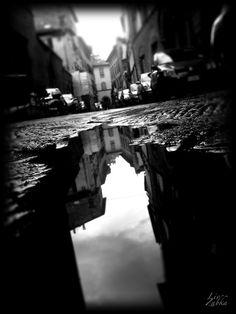 Lucca, Italy #Beauty #Rain