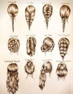 hairstyle, braid, long hair
