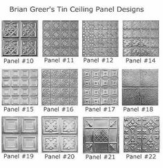 Tin Ceilings: Tin ceiling panels: Low maintenance elegance for homes, offices…