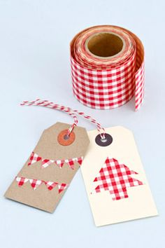 cute and simple Christmas tags