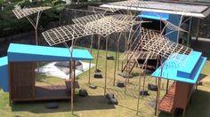 MOMAT Pavilion by Studio Mumbai by JA+U. Shinkenchiku (New Architecture) : October 2012