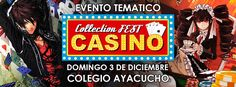 Kagi Nippon He ~ Anime Nippon-Jin: Collection Fest Casino 2017 - La Paz, Bolivia, 3 d...
