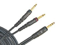 """Planet Waves Custom Series Stereo Cable, 1/4 Inch to Dual Mono 1/4 Inch, 5 feet by Planet Waves. $20.29. From the Manufacturer                Planet Waves 5-foot Custom Series stereo cable featuring 1/4"""" to dual mono 1/4inch """"Y-split"""" feature gold plated connectors for superior signal flow and corrosion resistance. Planet Waves Custom Series cables utilize ultra-pure, oxygen-free copper conductors for low capacitance and pure tone. Encapsulated and impenetrable so..."""