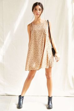Urban Renewal Remade A-Line Sleeveless Dress - Urban Outfitters