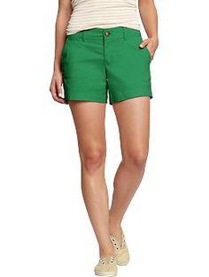 S perfect khaki shorts women's perfect khaki sho Purple Shorts, Old Navy Shorts, Green Shorts, Khaki Shorts, Summer Outfits Women, Casual Summer Outfits, Bikini Fashion, Fashion Forward, Clothes For Women