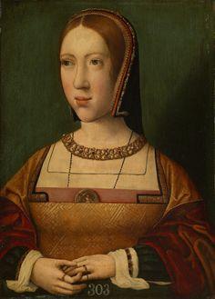 ab. 1515 Workshop of Bernard van Orley - Isabella of Austria