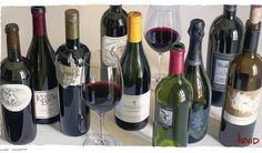 The Mind-Blowingly Realistic Wine Paintings of Thomas Arvid