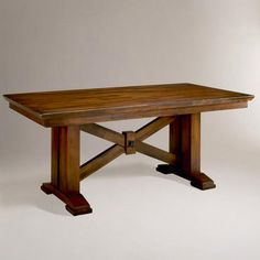 Lugano Dining Table - v2- we own this dining table from World Market- a very solid, sturdy table, we love it!