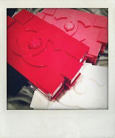 """Um. #Chanel lego block clutches? I Want. No, I need. #fashion"" - @Palestyle"