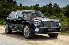Black Bentley SUV