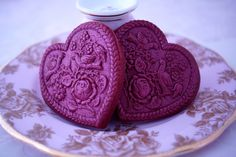 Red Velvet Springerle Cookie