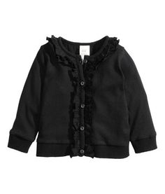 Frilled cardigan | Product Detail | H&M