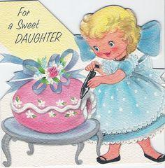 Easter 1961 | vintage Easter card
