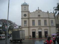 """Igreja Matriz de Guarulhos"". # Guarulhos. Estado de São Paulo, Brasil."